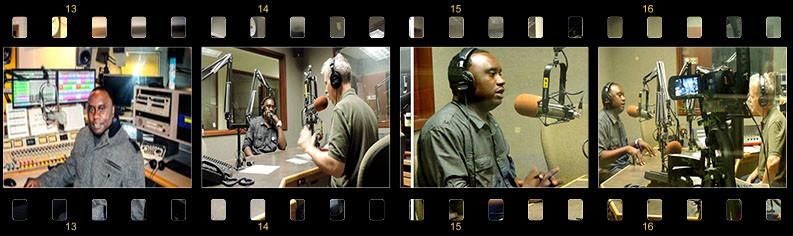 Davies Chirwa Radio Station appearance