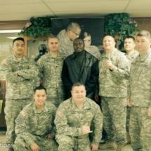 Davies Chirwa - Behind Scenes with The U.S Troops at Fort Lewis McCord Base