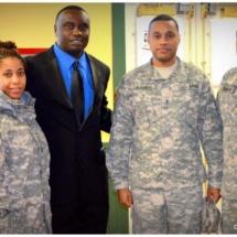 Davies Chirwa - Community Service with the U.S Troops