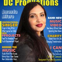 DC Productions Magazine Featuring special guest Amanda Alfaro