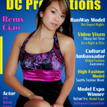 DC Productions Magazine Featuring special guest Jesca Cho