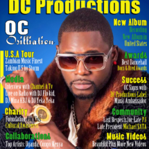 DC Productions Magazine Featuring special guest OC