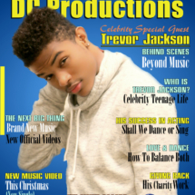 DC Productions Magazine Featuring Celebrity Guest, Trevor Jackson