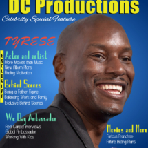 DC Productions Magazine Featuring Celebrity Guest, Tyrese